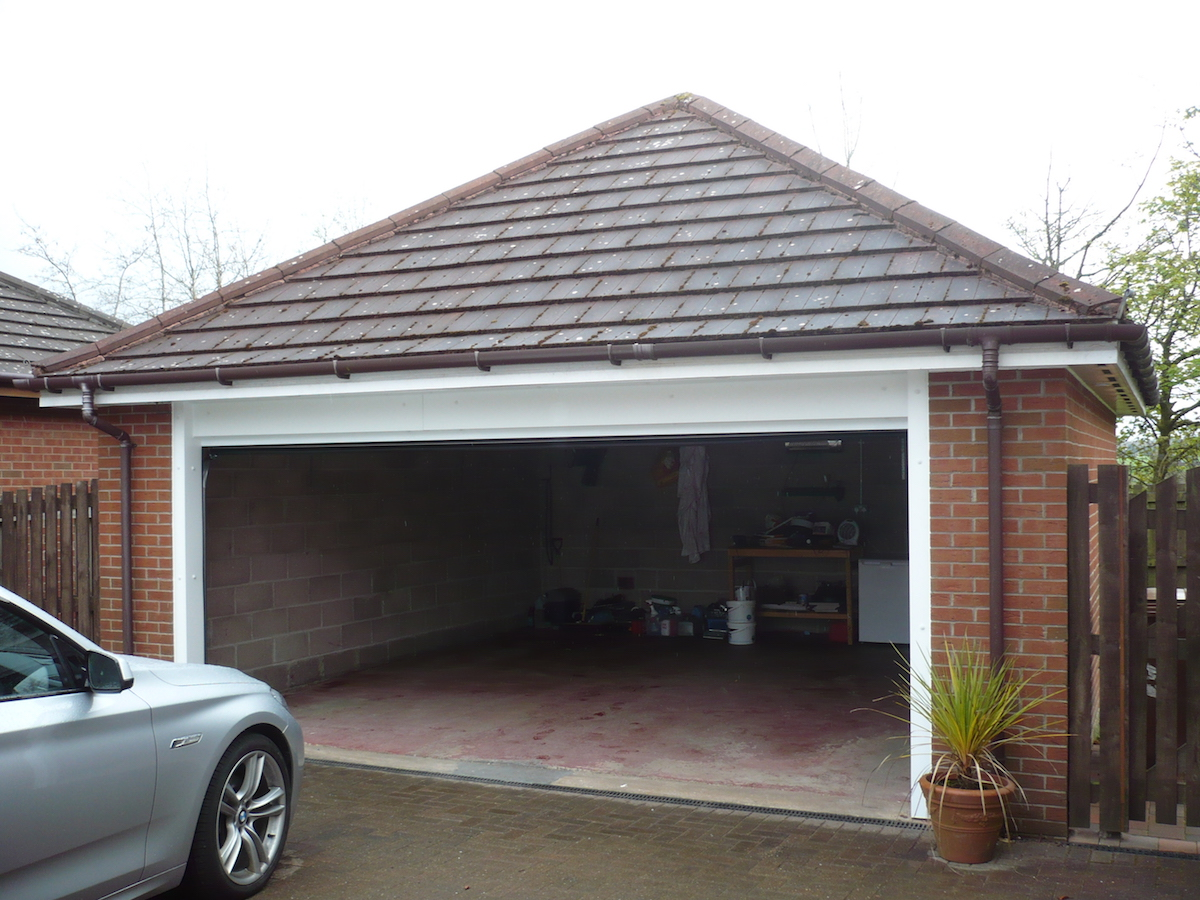 Concrete Garage 1