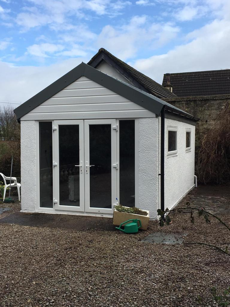 Recent Garage Conversion Welsh Builds