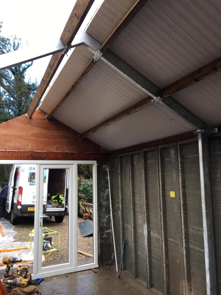 Roof Construction Interior