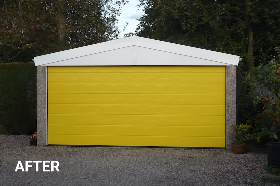 Yellow Garage After