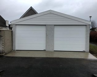 Large Concrete Garage