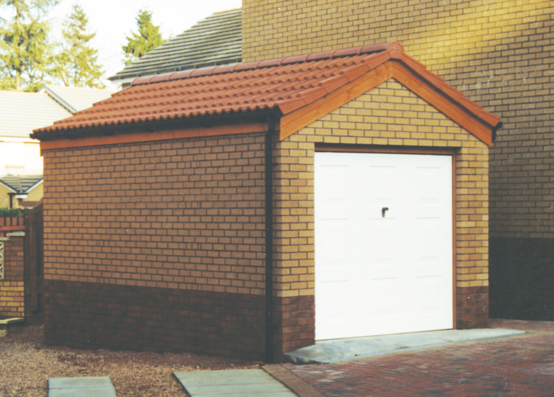 Brick Garages Welsh Builds