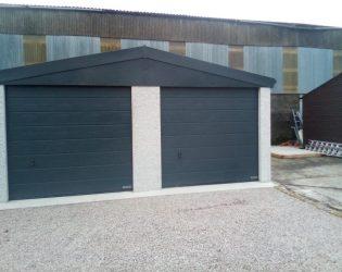 Large Concrete Garage