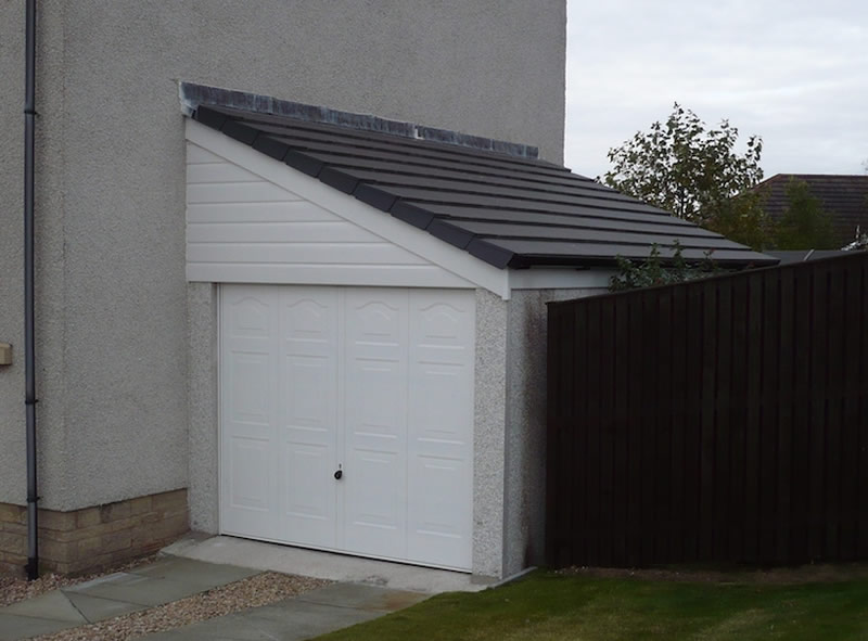 Attached Garages Welsh Builds