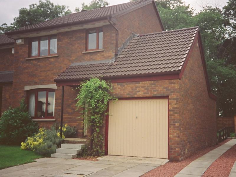 Brick garages welsh builds for Brick garages prices