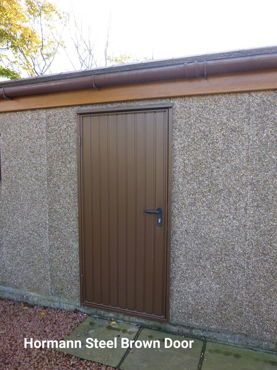Hormann Brown Door