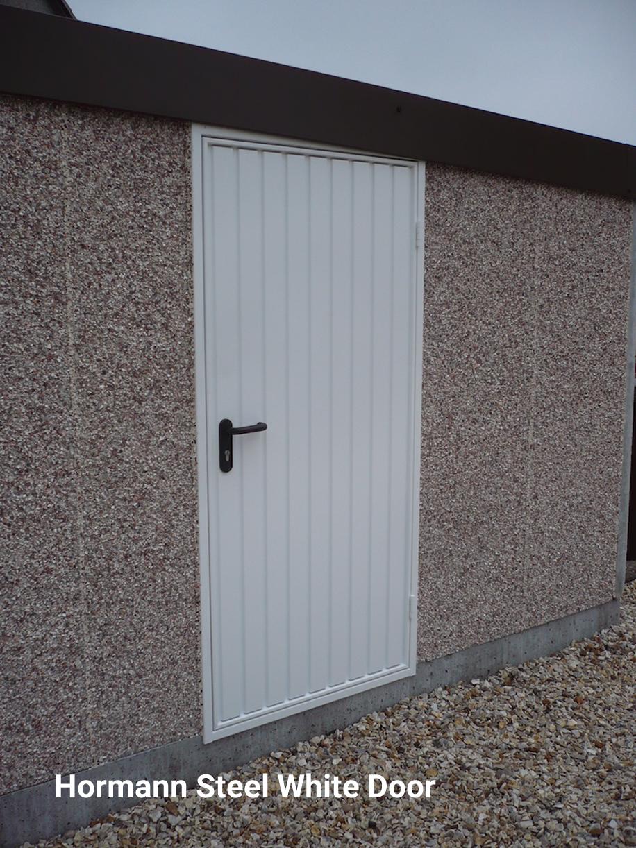 Hormann White Door