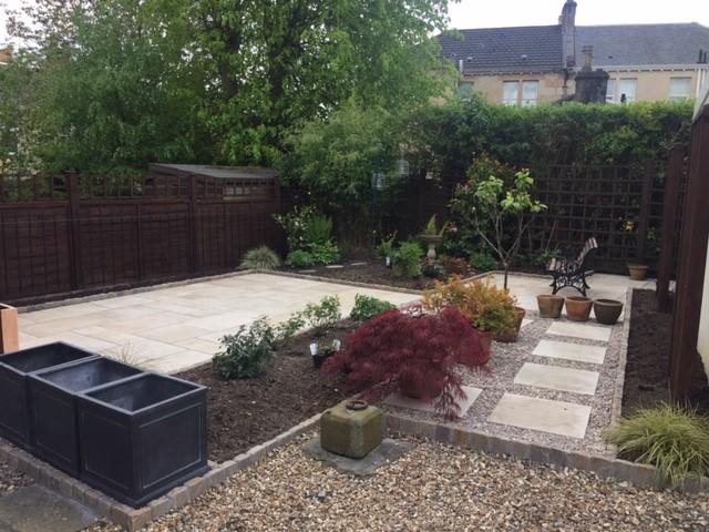 Hard/Soft Garden Landscape