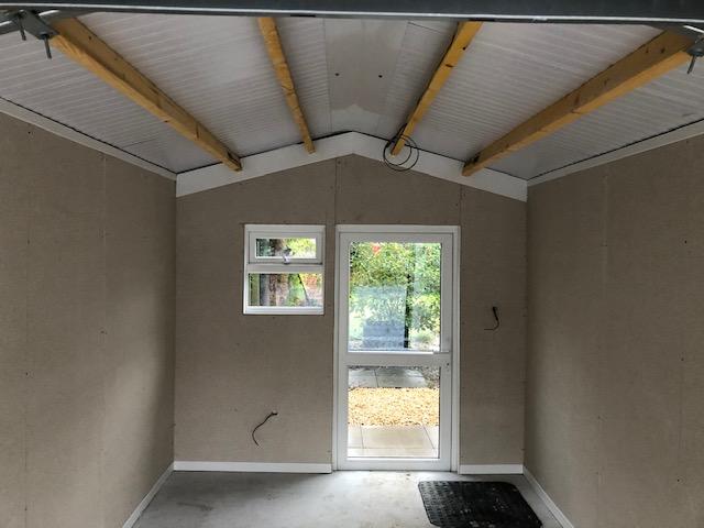 Interior Concrete Garage
